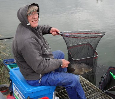 Dave Stanley Portland May 2010 netted carp
